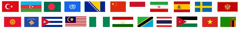 katılımcı bayraklar